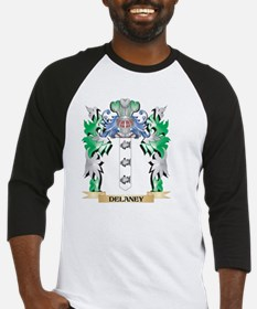Delaney Coat of Arms (Family Crest Baseball Jersey