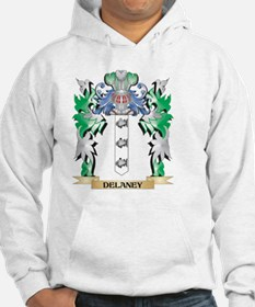 Delaney Coat of Arms (Family Cre Hoodie