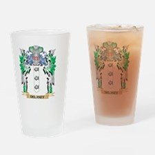 Delaney Coat of Arms (Family Crest) Drinking Glass