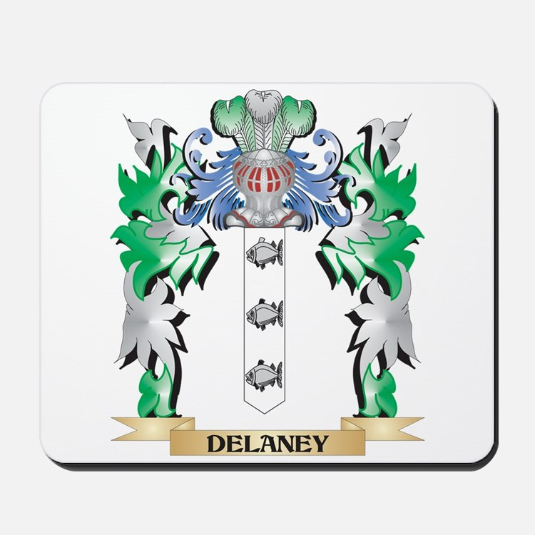 Delaney Coat of Arms (Family Crest) Mousepad