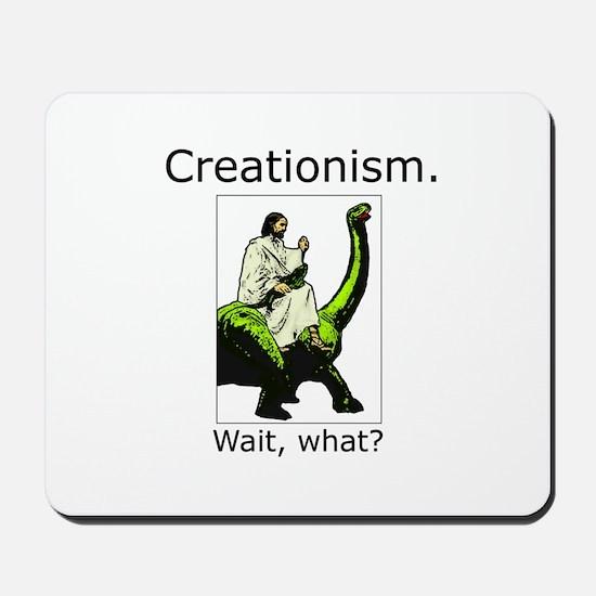 Creationism Mousepad