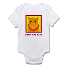 Crazy Cat Lady Infant Bodysuit
