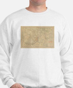Saigon Old Map Sweatshirt