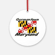 Germantown Maryland Ornament (Round)