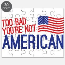 Too bad you're not American Puzzle