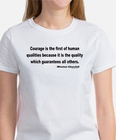 Churchill Courage Is The First Tee