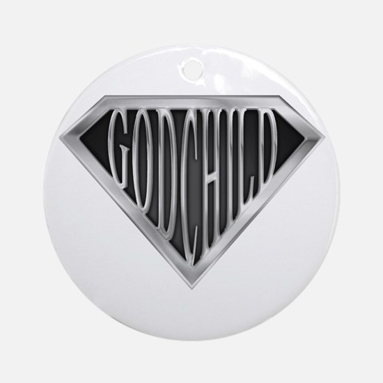 Super GodChild(metal) Ornament (Round)