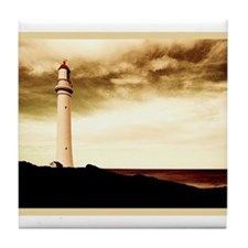 """Beautiful Lighthouses"" Tile Coaster"