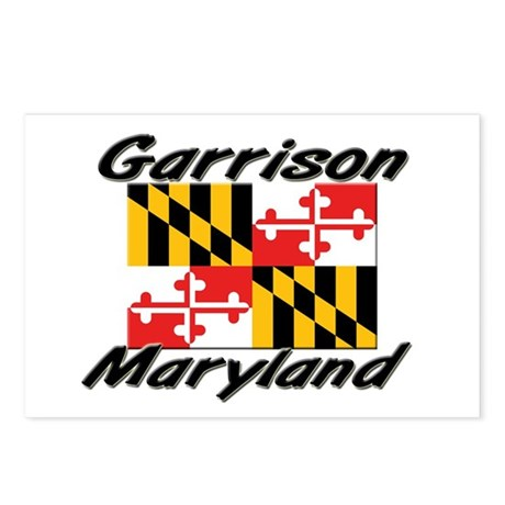 Garrison Maryland Postcards (Package of 8)