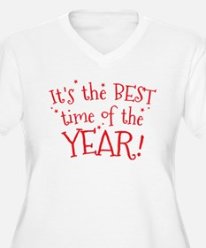 It's the BEST time of the YEAR! Plus Size T-Shirt