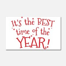 It's the BEST time of the YEAR! Car Magnet 20 x 12