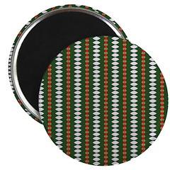 Green Pattern 002 Magnet