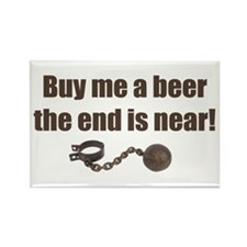 Buy me a Beer Rectangle Magnet