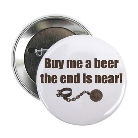 """Buy me a Beer 2.25"""" Button (10 pack)"""