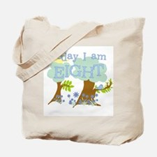 My Day 8th Birthday Tote Bag