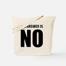 NO! Tote Bag