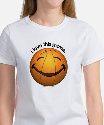 I Love This Game Basketball T-Shirt