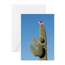 Cute Christmas cactus Greeting Cards (Pk of 20)