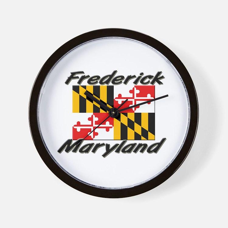Frederick Maryland Wall Clock