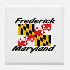 Frederick Maryland Tile Coaster