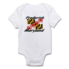 Frederick Maryland Infant Bodysuit