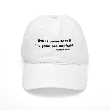 Reagan Evil Is Powerless Cap