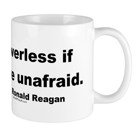 Reagan Evil Is Powerless Mug
