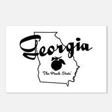 Georgia State Postcards (Package of 8)