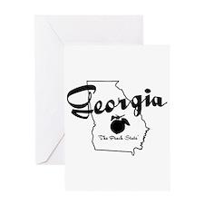 Georgia State Greeting Card