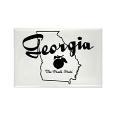 Georgia State Rectangle Magnet (10 pack)