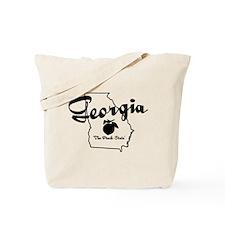 Georgia State Tote Bag