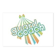 Retro Guard Coach Postcards (Package of 8)