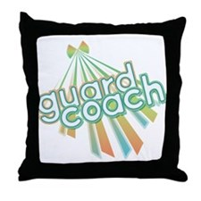 Retro Guard Coach Throw Pillow