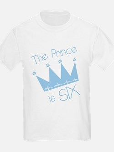 Prince I'm Six T-Shirt