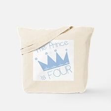 Prince I'm Four Tote Bag