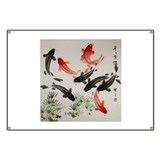 Koi fish paintings Banners