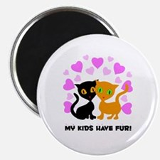 "My Kids Have Fur 2.25"" Magnet (100 pack)"