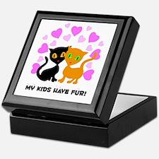 My Kids Have Fur Keepsake Box