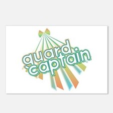 Retro Guard Captain Postcards (Package of 8)