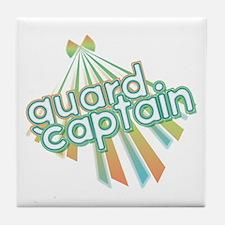Retro Guard Captain Tile Coaster