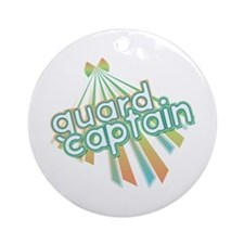 Retro Guard Captain Ornament (Round)