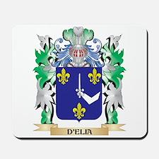 D'Elia Coat of Arms (Family Crest) Mousepad