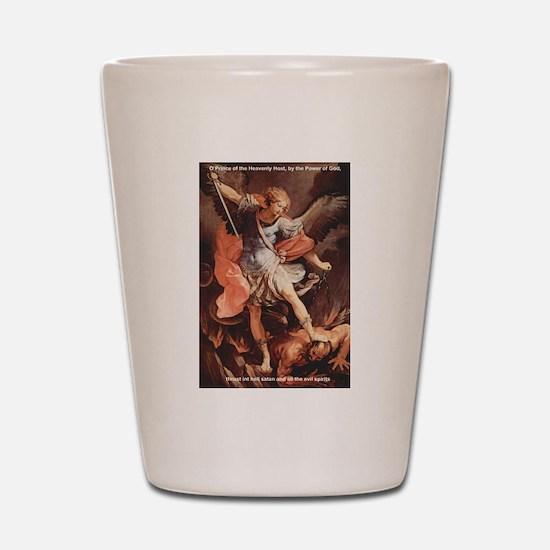 St. Michael the Archangel Shot Glass
