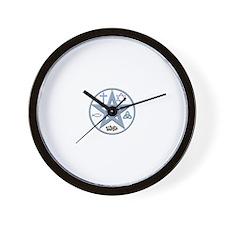 Christo-Pagan Pentacle Wall Clock