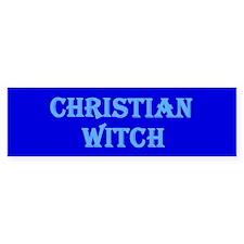 Christian Witch Bumper Bumper Sticker