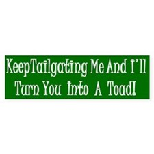 Toad Bumper Bumper Sticker