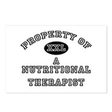 Property of a Nutritional Therapist Postcards (Pac