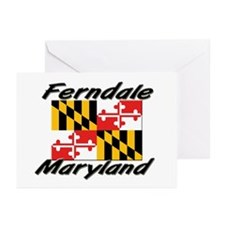 Ferndale Maryland Greeting Cards (Pk of 10)