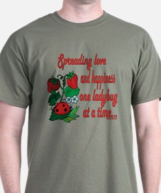 Spreading Love Ladybugs T-Shirt