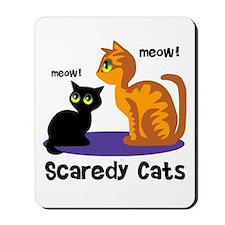Scaredy Cats Mousepad